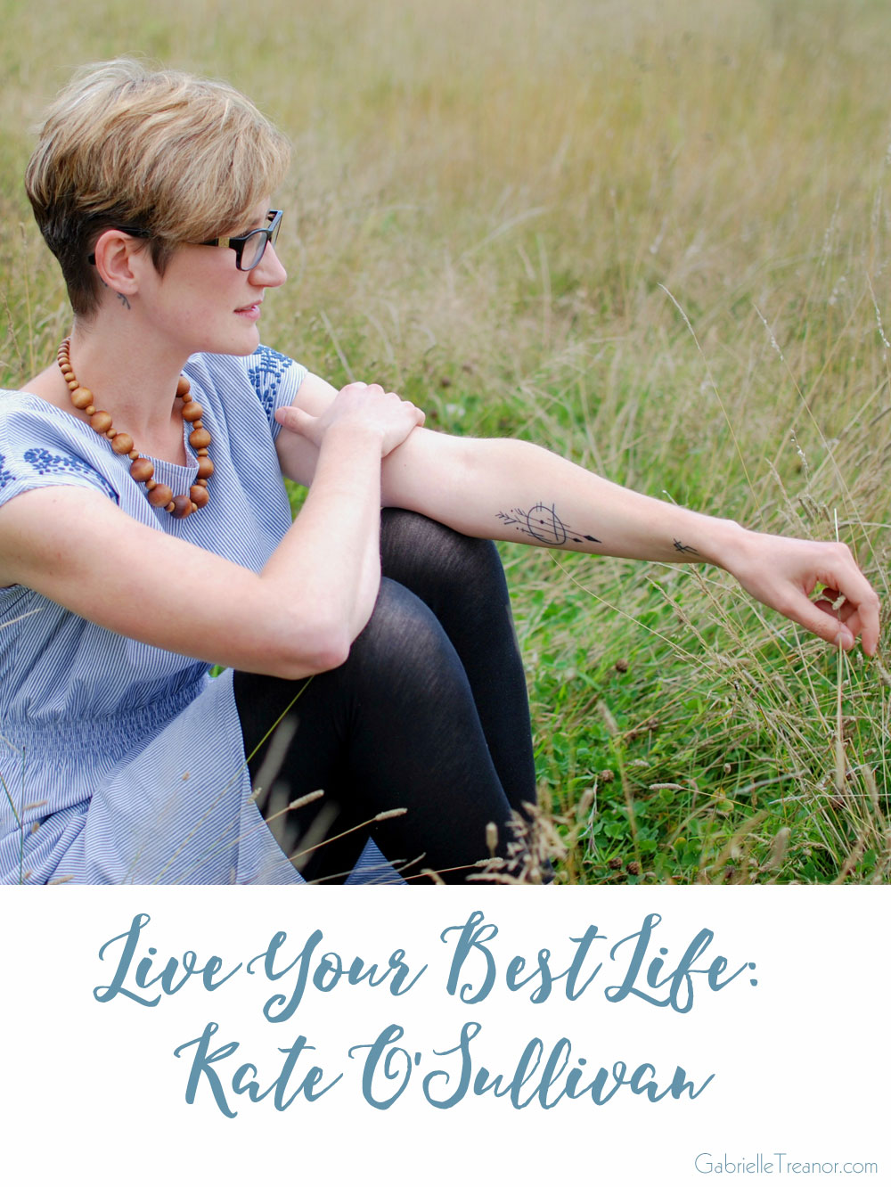 Live Your Best Life interview with Kate from A Playful Day GabrielleTreanor.com