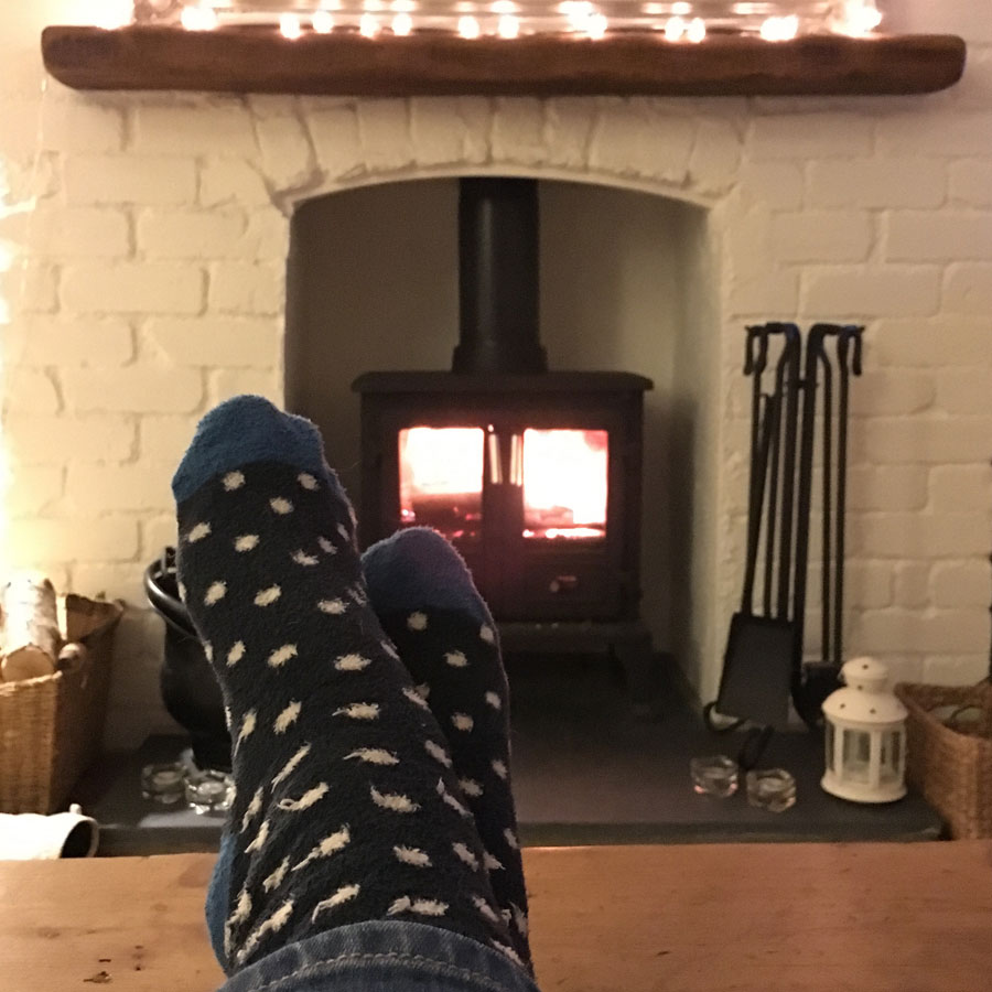 fire-and-feet-up