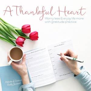 Take a look inside A Thankful Heart gratitude e-course