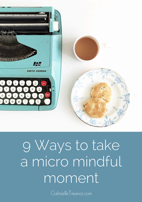 how to take a micro mindful moment