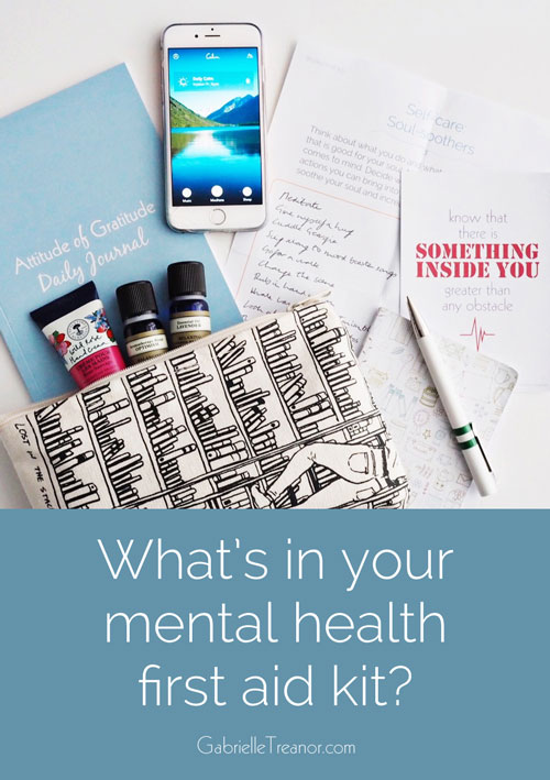 mental health first aid kit