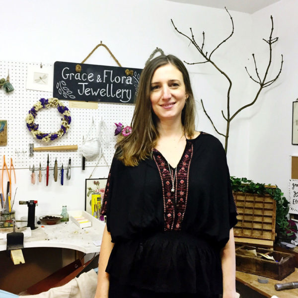 Inspiring interview with jeweller Kate Harvey