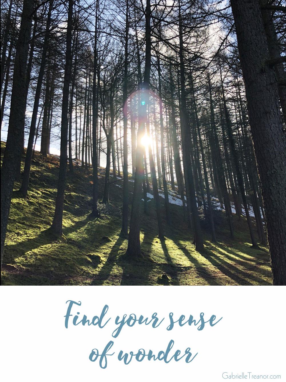 Find your sense of wonder