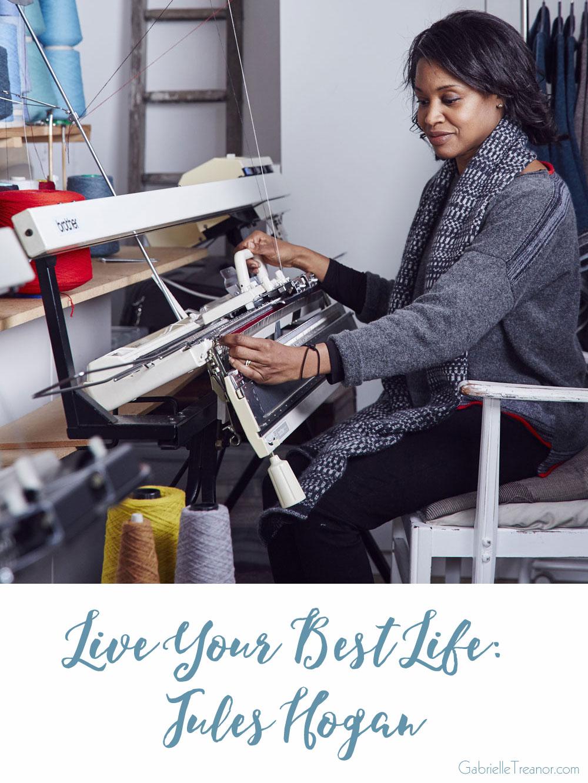 Jules Hogan knitwear designer