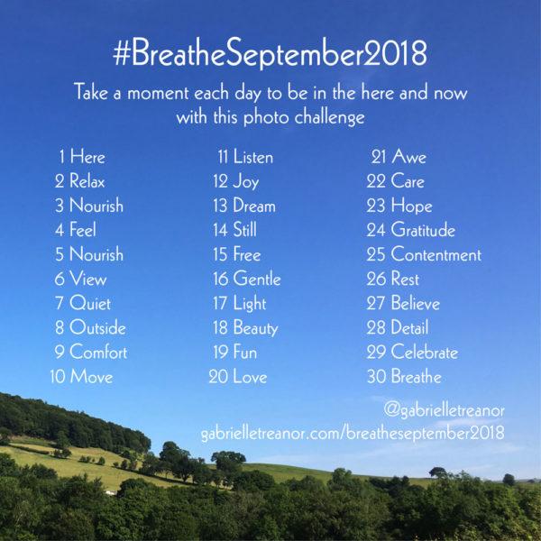 #BreatheSeptember2018