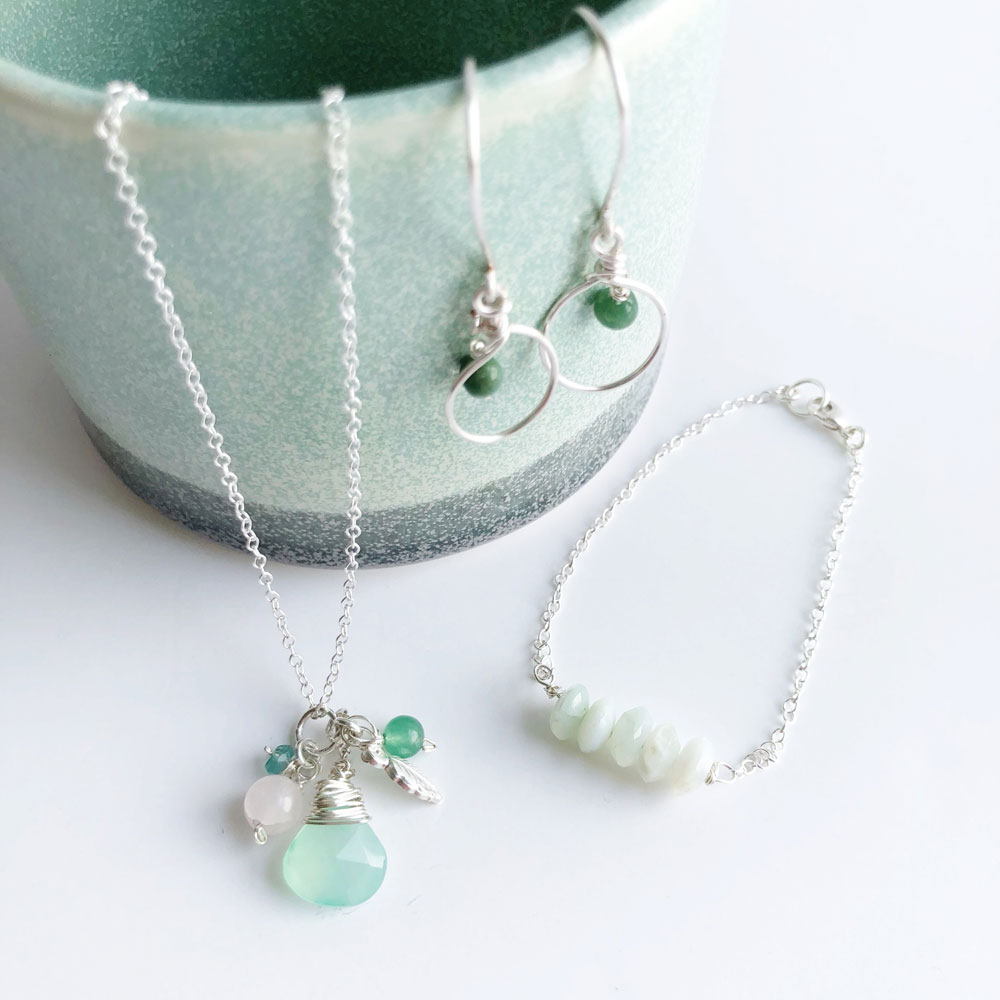 Grace and Flora jewellery
