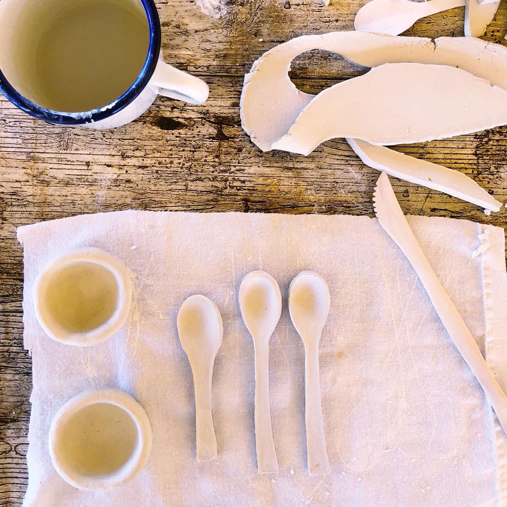 Katie Robbins ceramic magpie