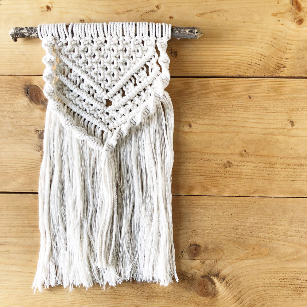 Pretty Little Knots macrame wall hanging workshop
