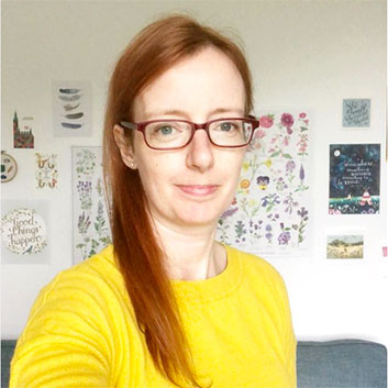 Picture of Gabrielle Treanor in a yellow jumper