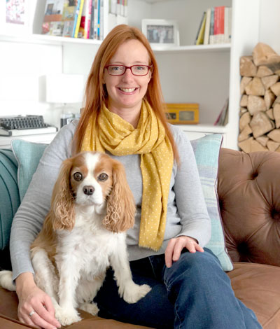 Gabrielle Treanor with Georgie the Dog