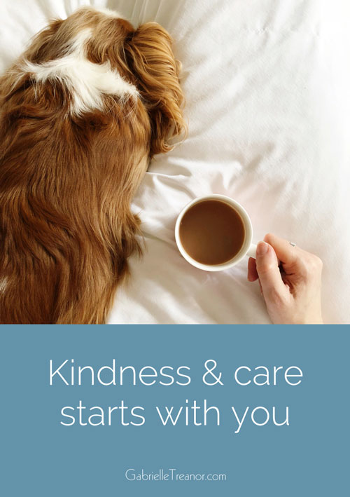 Kindness and care starts with you