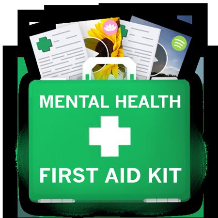 Mental Health First Aid Kit Case