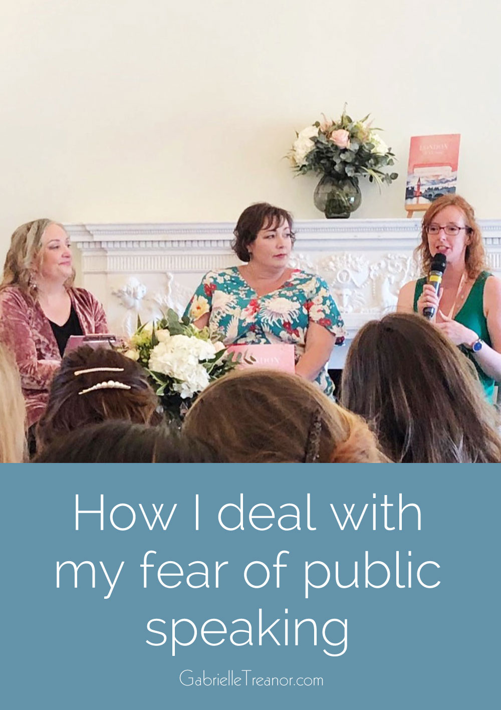 How I deal with my fear of public speaking