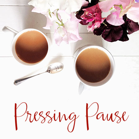 Pressing Pause Podcast Image
